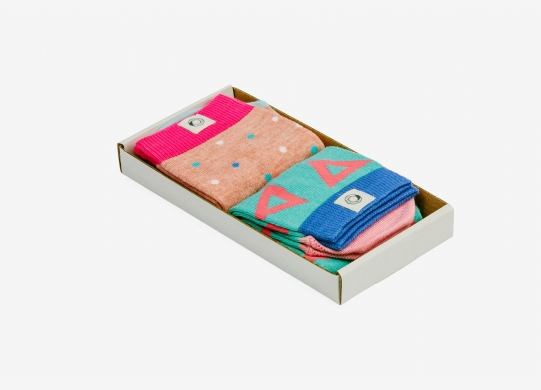 Girl's socks 2PACK