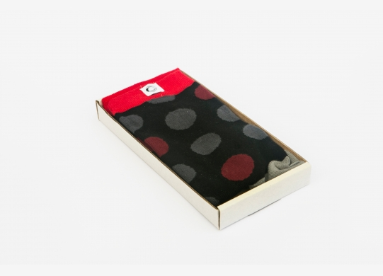 Men's socks - Big Poppy Seeds
