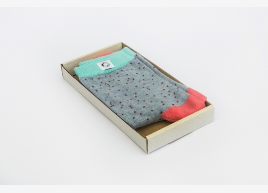 Women's socks - Small Poppy Seeds